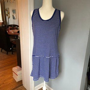 Gap Sleeveless Terry Cloth Striped Dress Cover Up